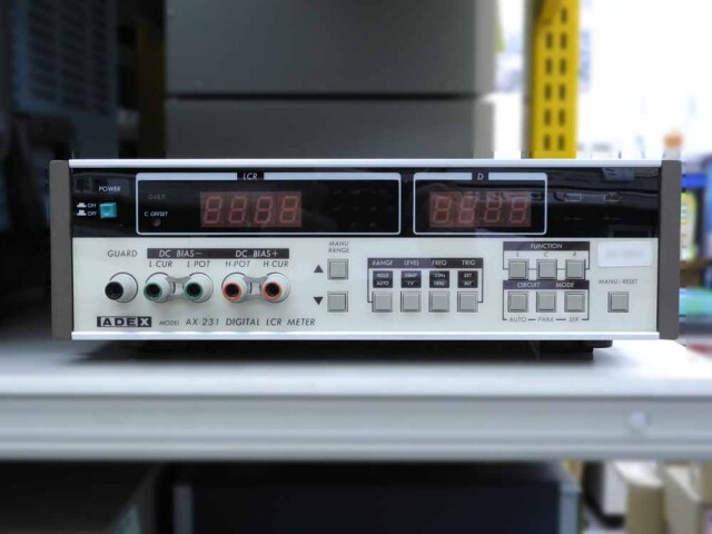 中古 アデックス LCRメータ AX-231 (管理番号:UKK-09247)