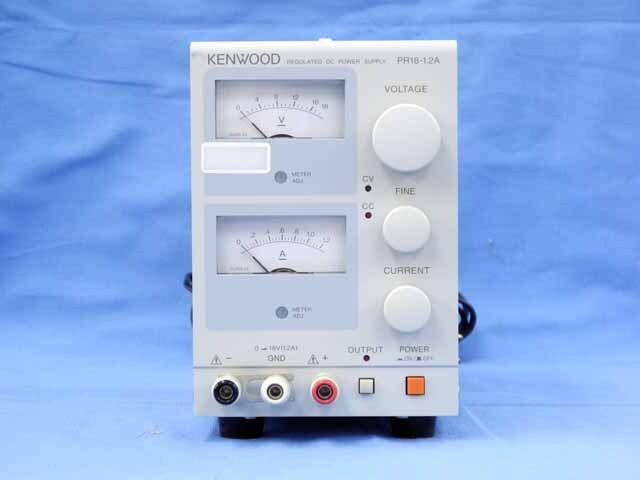中古 テクシオ(ケンウッド) 直流安定化電源 PR18-1.2A (管理番号:UKK-09446)