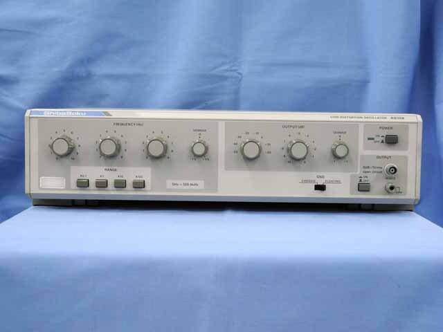 中古 シバソク 超低ひずみ発振器 AG15B(管理番号:UKK-09568)