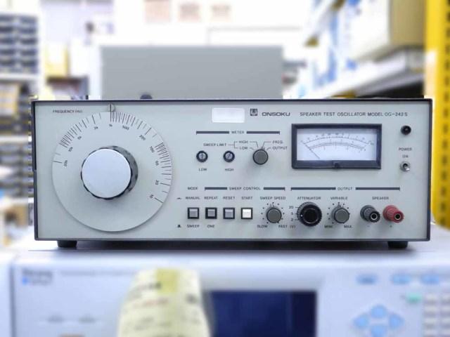 中古 オンソク スピーカー試験用発振器 OG-242S (管理番号:UKK-09570)