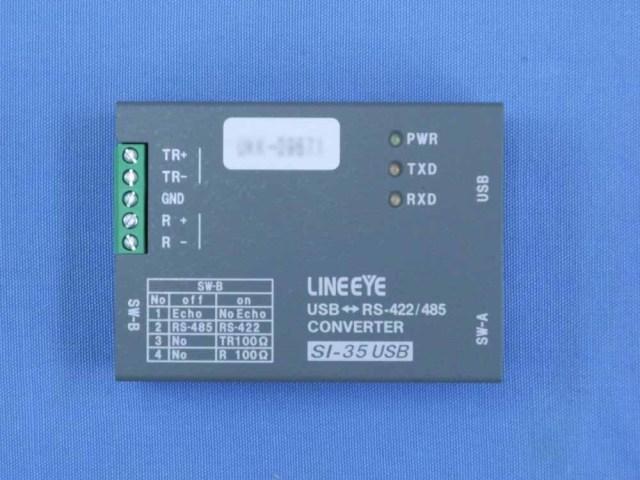 中古 ラインアイ USB-RS-422/485コンバータ SI-35USB (管理番号:UKK-09671)