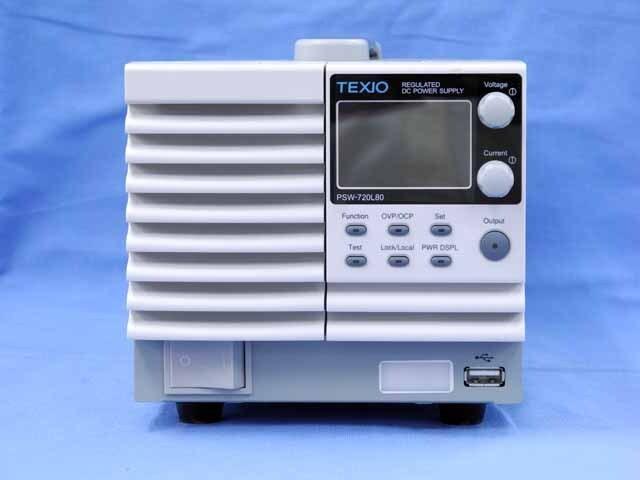 中古 テクシオ 直流安定化電源 PSW-720L80  (管理番号:UKK-09684)