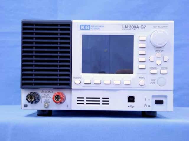 中古 計測技術研究所 直流電子負荷装置 LN-300A-G7  (管理番号:UKK-09708)