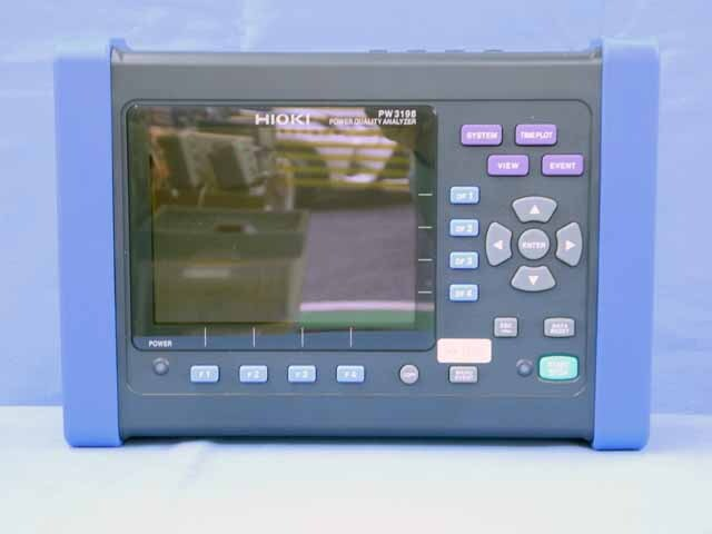 中古 日置電機 電源品質アナライザ PW3198 (管理番号:UKK-09749)
