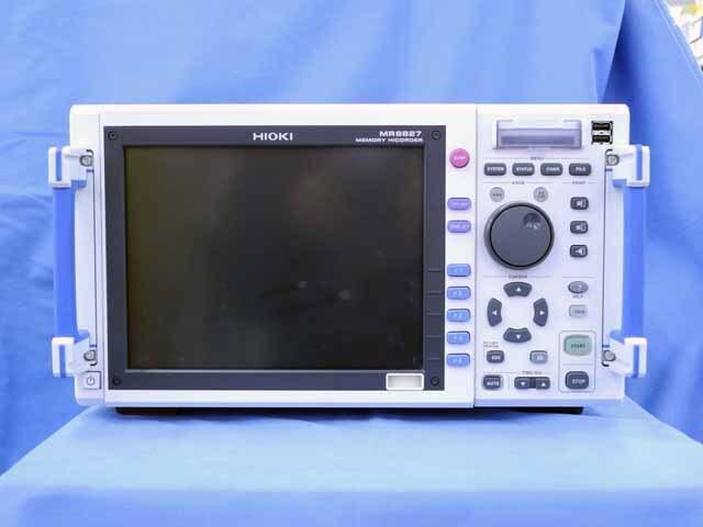 中古 日置電機 メモリハイコーダ MR8827 (管理番号:UKK-09791)