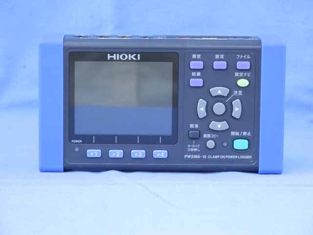 中古 日置電機 クランプオンパワーロガー PW3365-01 (管理番号:UKK-09792)