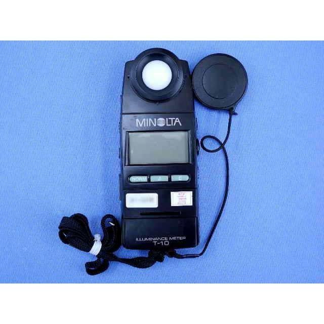 中古 コニカミノルタ デジタル照度計 T-10  (管理番号:UKK-09898)