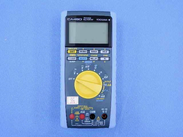 中古 横河計測 プロセスマルチメータ CA450 (管理番号:UKK-09924)