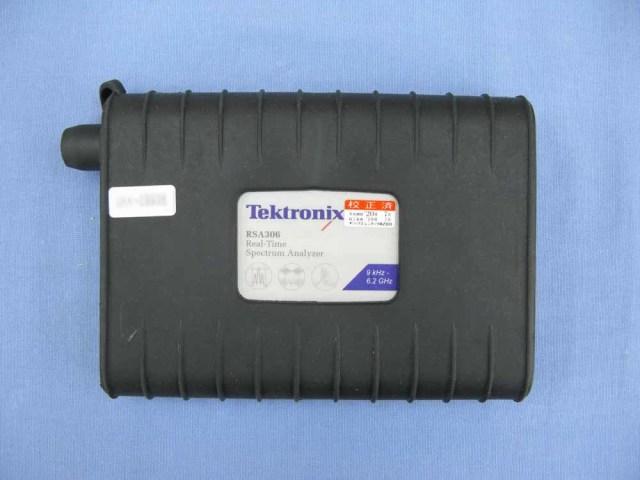 中古 テクトロニクス USB接続リアルタイム・スペクトラム・アナライザ RSA306 (管理番号:UKK-09936)