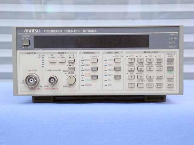 中古 アンリツ 周波数カウンタ MF1601A (管理番号:UKK-09951)