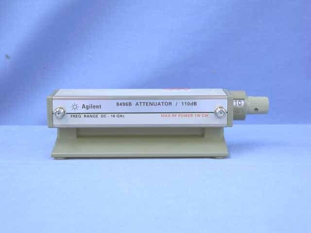 中古 キーサイト(アジレント) ステップ・アッテネータ 8496B-002 (UKK-09974)
