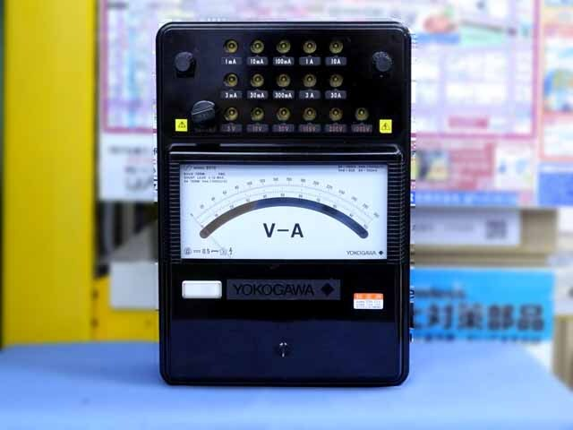 中古 横河計測 直流電流・電圧計 2012-00 (管理番号:UKK-09981)