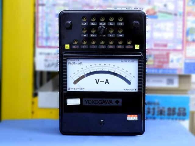 中古 横河計測 直流電流・電圧計 2012-00 (管理番号:UKK-09982)
