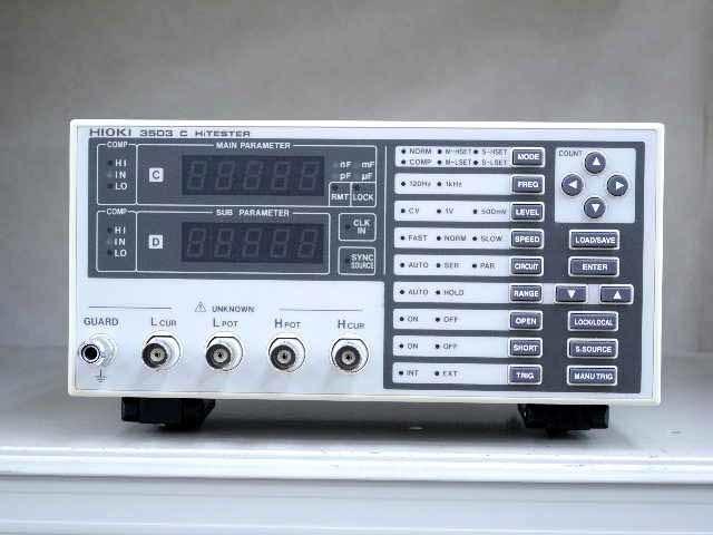 中古 日置電機 Cハイテスタ 3503 (管理番号:UKK-09985)