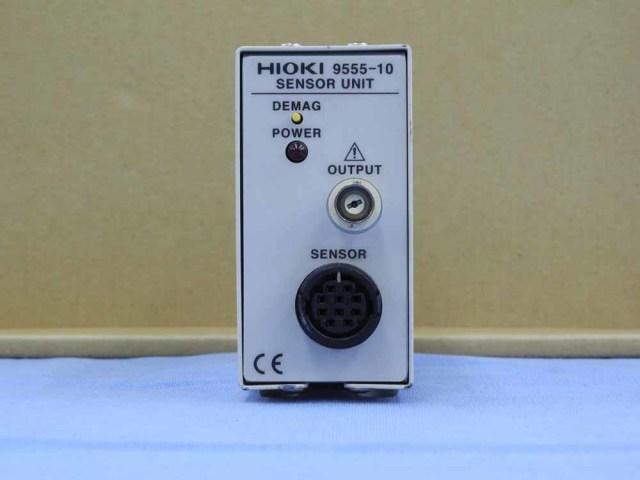 中古 日置電機 クランプオンセンサユニット 9555-10 (管理番号:UKK-09987)