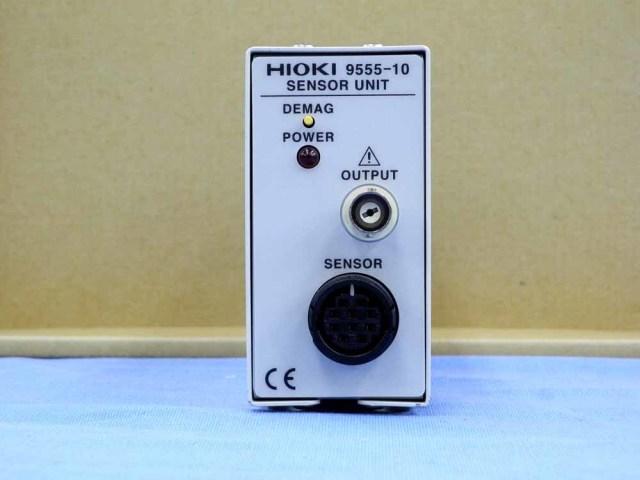中古 日置電機 クランプオンセンサユニット 9555-10 (管理番号:UKK-09988)