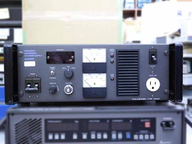 中古 高砂製作所 周波数変換/交流安定化電源 AA330F (管理番号:UKK-10001)