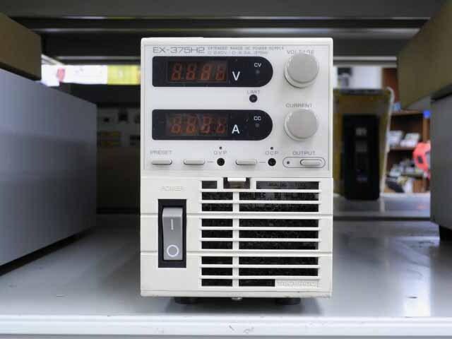 中古 高砂製作所 直流電源 EX-375H2 (管理番号:UKK-10016)