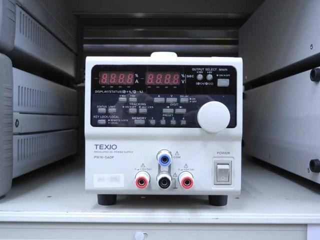 中古 テクシオ 直流安定化電源 PW16-5ADP (管理番号:UKK-10052)