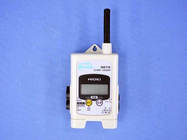 中古 日置電機 無線クランプロガー 3673 (管理番号:UKK-10064)
