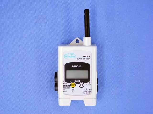 中古 日置電機 無線クランプロガー 3673 (管理番号:UKK-10065)