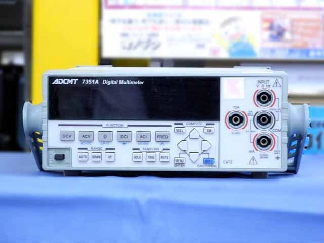 中古 エーディーシー デジタル・マルチメータ 7351A (管理番号:UKK-10091)