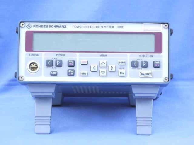 中古 ローデ・シュワルツ RFパワーメータ NRT (管理番号:UKK-10095)