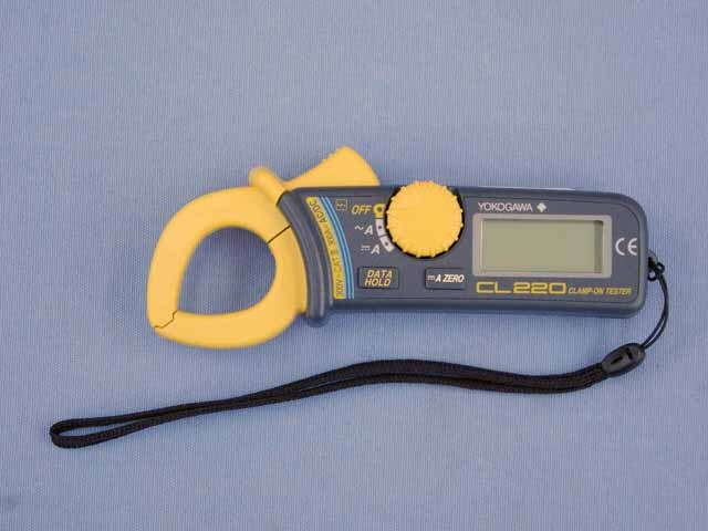 中古 横河計測 AC/DCクランプテスタ CL220 (管理番号:UKK-10108)