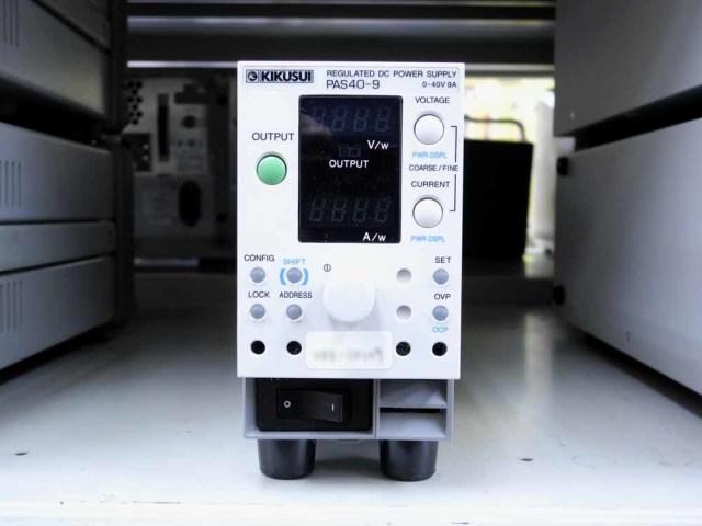 中古 菊水電子工業 直流安定化電源 PAS40-9 (管理番号:UKK-10109)