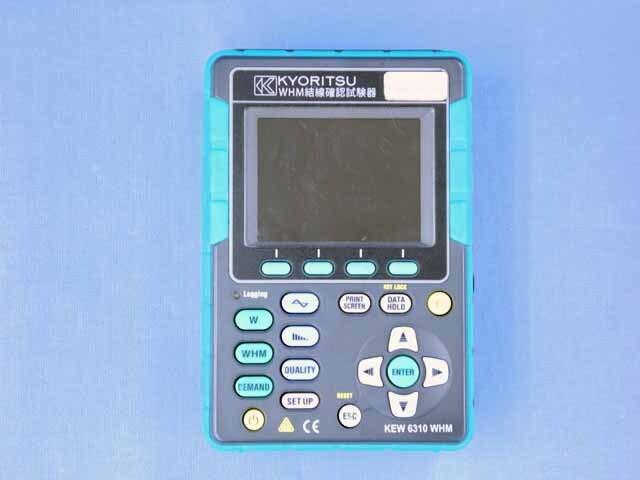 中古 共立電気計器 WHM結線確認試験器 KEW 6310WHM (管理番号:UKK-10114)