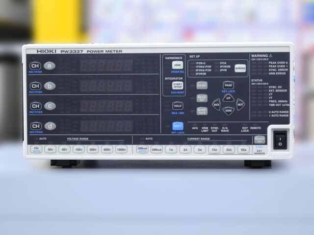 中古 日置電機 デジタルパワーメータ PW3337-03 (管理番号:UKK-10222)