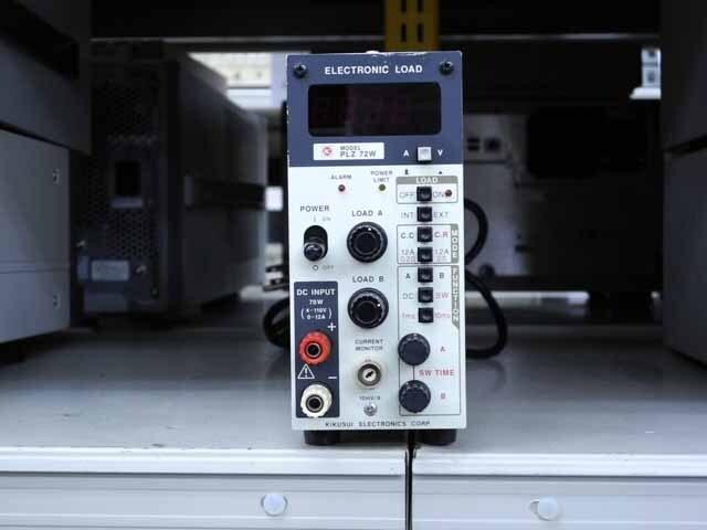 中古 菊水電子工業 電子負荷装置 PLZ72W (管理番号:UKK-10224)