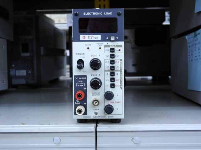 中古 菊水電子工業 電子負荷装置 PLZ72W (管理番号:UKK-10225)