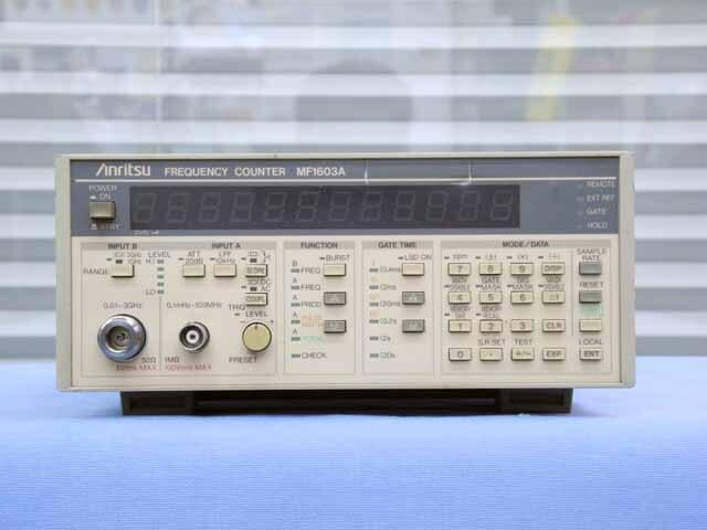 中古 アンリツ 周波数カウンタ MF1603A (管理番号:UKK-10251)