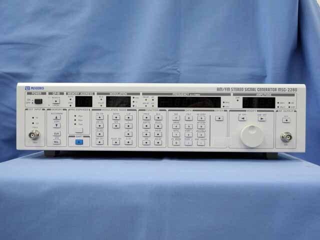 中古 目黒電波 AM/FM標準信号発生器 MSG-2280(管理番号:UKK-10282)