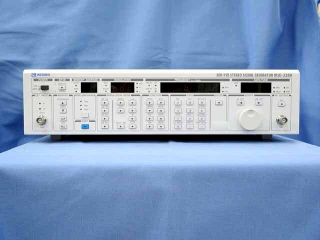 中古 目黒電波 AM/FM標準信号発生器 MSG-2280(管理番号:UKK-10283)