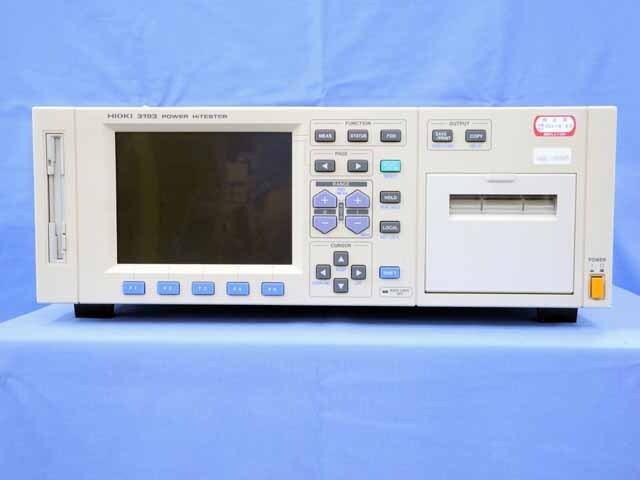 中古 日置電機 パワーハイテスタ(電力計) 3193 (管理番号:UKK-10349)