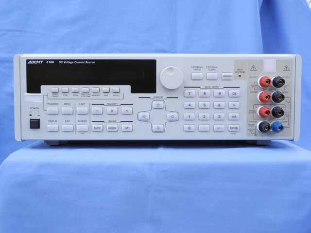 中古 エーディーシー 標準直流電圧・電流発生器 6166  (管理番号:UKK-10366)