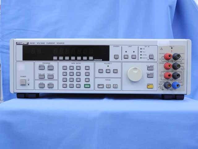 中古 エーディーシー(アドバンテスト) 直流電圧電流発生器 R6161 (管理番号:UKK-10367)