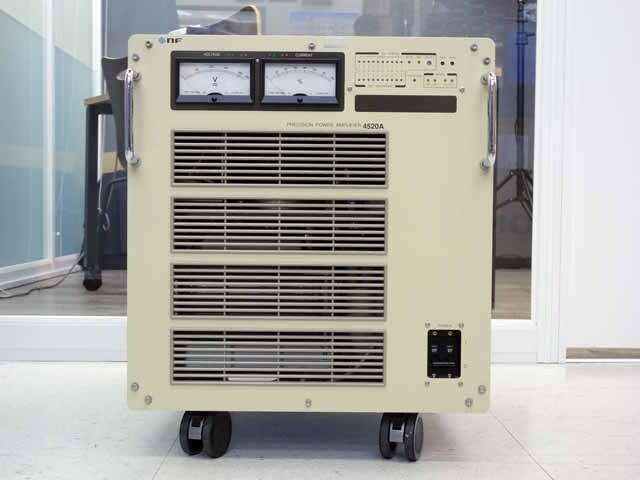 中古 エヌエフ回路設計ブロック 電力増幅器 4520A (管理番号:UKK-10371)