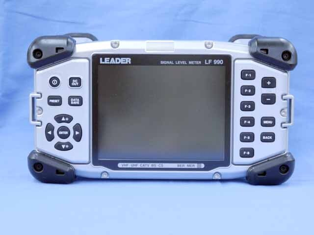 中古 iリーダー電子 シグナルレベルメータ LF990 (OP72付) (管理番号:UKK-10380)