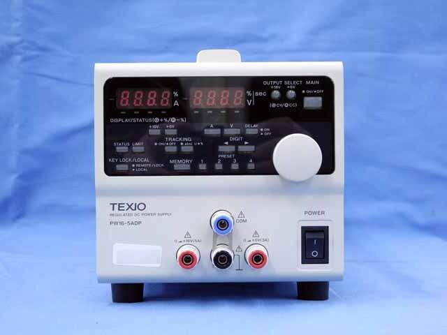 中古 テクシオ 直流安定化電源 PW16-5ADP (管理番号:UKK-10383)