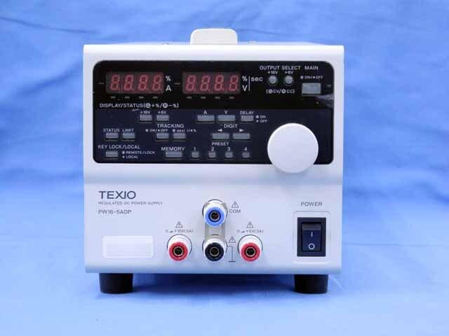 中古 テクシオ 直流安定化電源 PW16-5ADP (管理番号:UKK-10384)