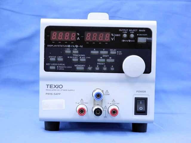 中古 テクシオ 直流安定化電源 PW16-5ADP (管理番号:UKK-10386)