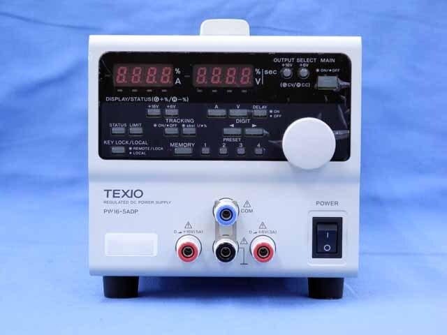 中古 テクシオ 直流安定化電源 PW16-5ADP (管理番号:UKK-10387)