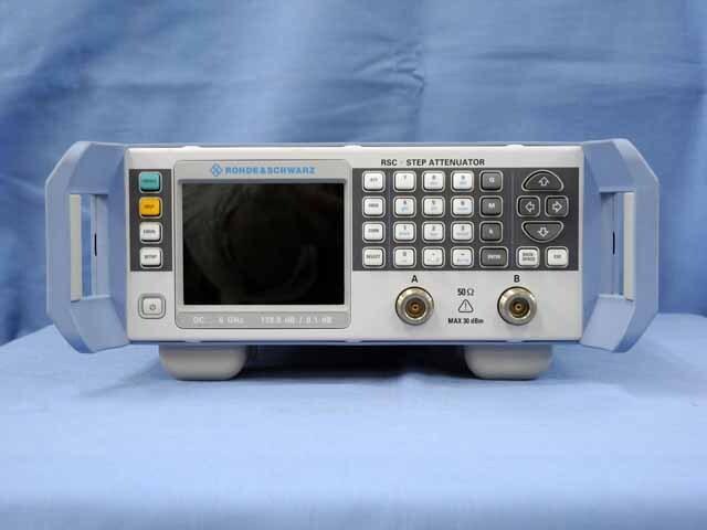 中古 ローデ・シュワルツ  ステップ・アッテネータ RSC-04 (管理番号:UKK-10389)