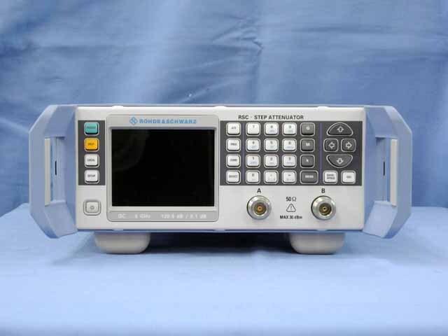 中古 ローデ・シュワルツ  ステップ・アッテネータ RSC-04 (管理番号:UKK-10390)
