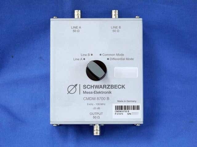 中古 SCHWARZBECK 同軸切換スイッチ CMDM8700B (管理番号:UKK-10392)