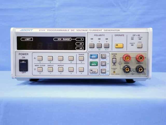中古 エーディーシー 直流電圧/電流発生器 6144 (管理番号:UKK-10411)