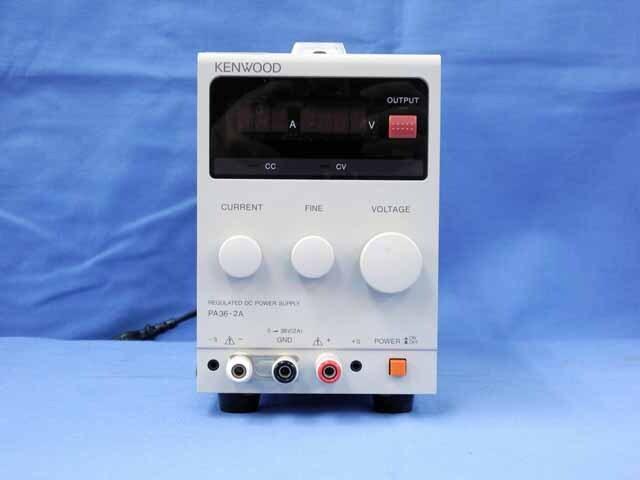 中古 テクシオ(ケンウッド) 直流安定化電源  PA36-2A (管理番号:UKK-10418)